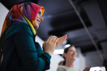 Women Clapping