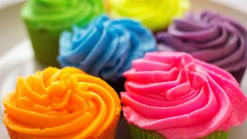 3D Cup Cake HD Photo Background