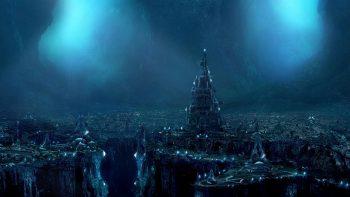 3D Fantasy Places Wallpaper