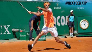 Alexander Zverev During Tennis Game Photo