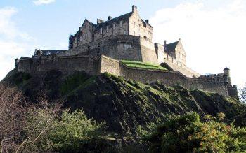 Beautiful on High Hill Edinburgh Castle