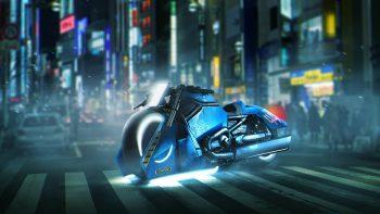 Blade Runner Police 995 Spinner Harley Davidson V Rod Muscle Best HD Image
