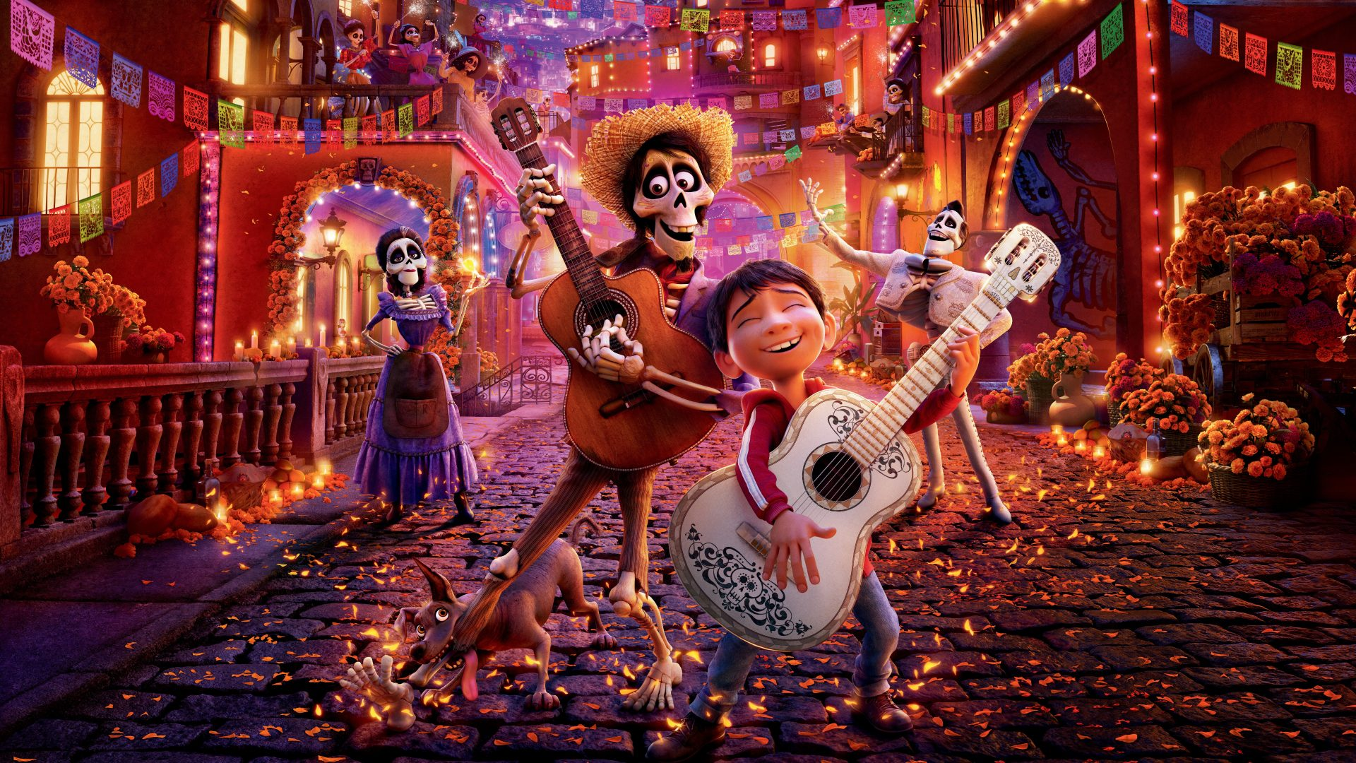 Coco Pixar Animation - Download hd wallpapers