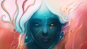 Fantasy Woman Paint HD