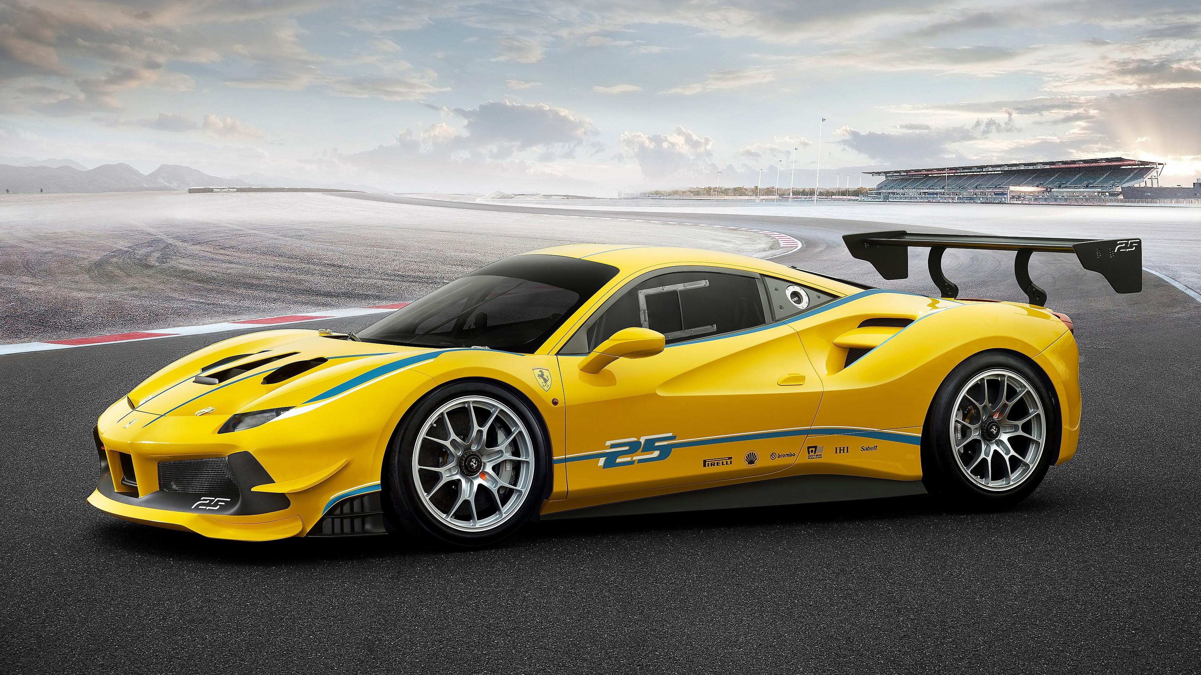 Get Ferrari 488 And Model Wallpaper Hd  Images