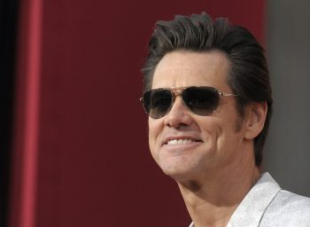 Jim Carrey Popular Canadian American Actor in Goggle