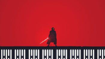 Kylo Ren Star Wars The Last Jedi Artwork