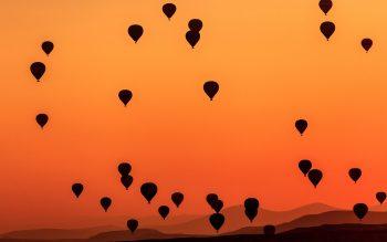 Parasuit in Sky Photo