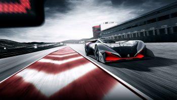 Peugeot L750 R Hybrid Vision Gran Turismo Concept Best HD Image