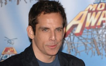 Popular American Comedian Actor Ben Stiller Smart Look HD