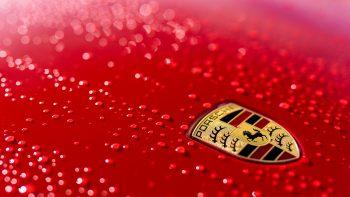 Porsche Logo HD 4K