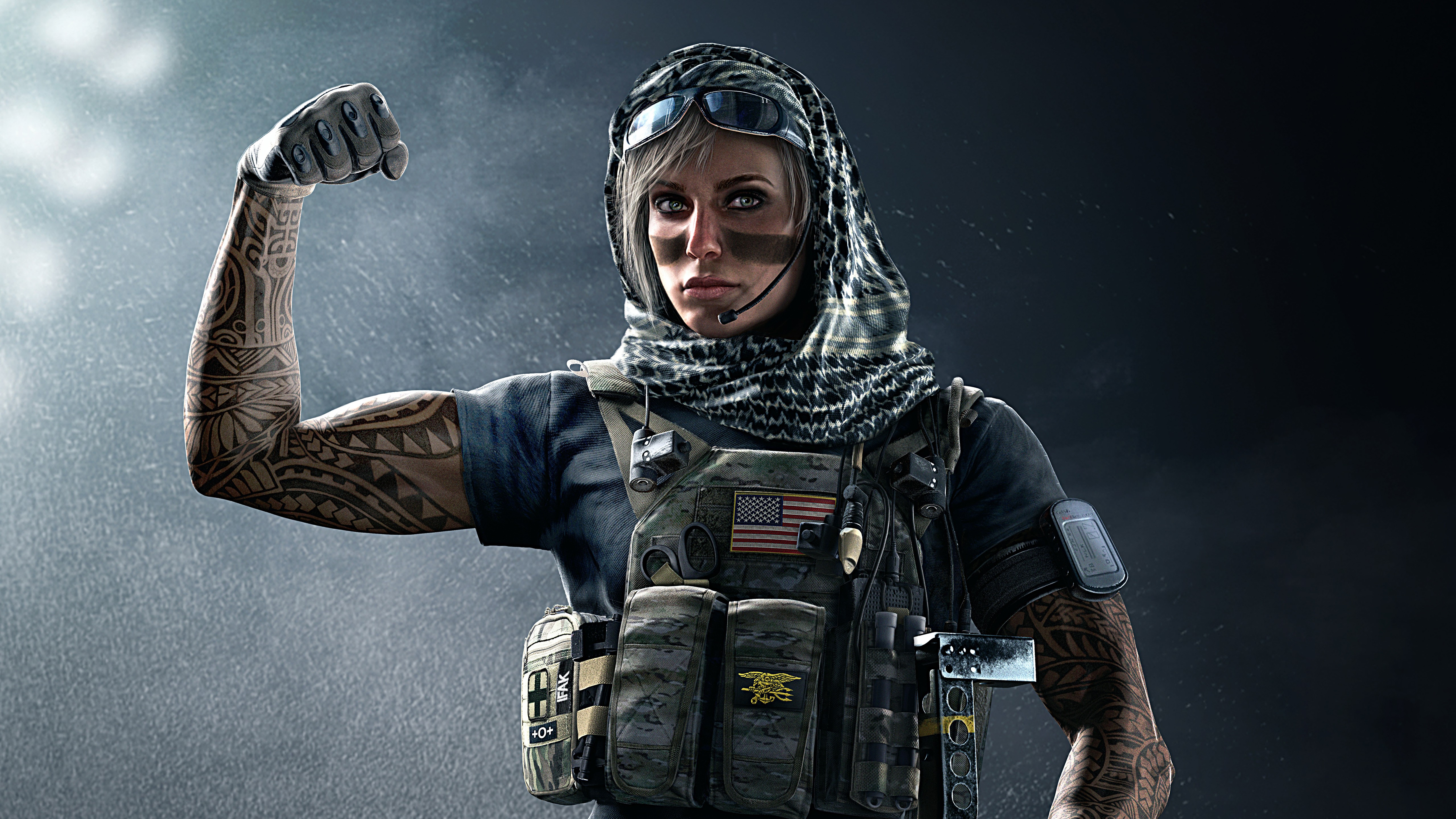 Tom Clancy's Rainbow Six Siege has just received its seventh major  post-launch content drop, with the arrival of Operation White Noise.