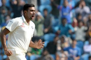 Ravichandran Ashwin in Test Match