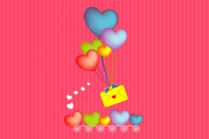 Send Message Through Heart Balloon