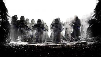 Star Wars The Last Jedi Snowtroopers 4k HD