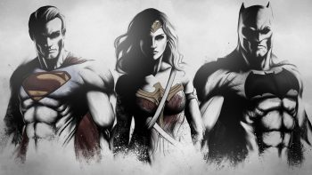 Superman Wonder Woman Batman Fan Art Best HD Image