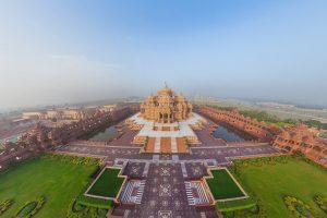 Swaminarayan Akshardham Hindu Temple in Delhi HD