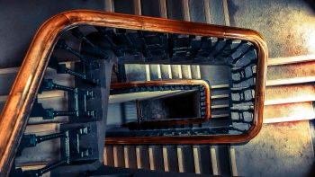 Wooden Stairs Best HD Image