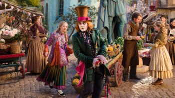 Alice Through The Looking Glass Mia Wasikowska Johnny Depp