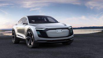Audi E Tron Sportback Concept 4K