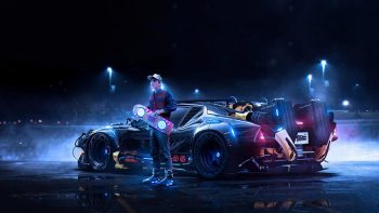 Back To The Future Concept Full HD Wallpaper Download