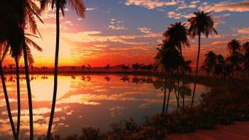 Beautiful Lake Sunset