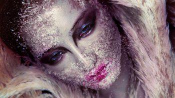 Beautiful Makeup Girl Face Art