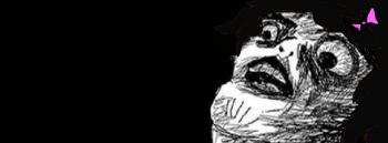 Black Funny Meme Download Gasp Face