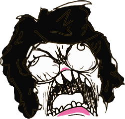 Black Funny Meme Download Rage Face