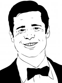 Brad Funny Meme Download Pitt