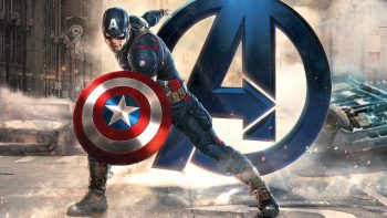 Captain America Avengers 3D Wallpaper Download