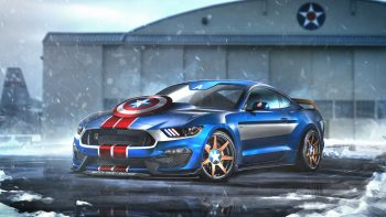 Captain America Ford Mustang Gt350r