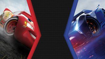 Cars 3 Lightning Mcqueen Vs Jackson Storm I Phone 7 Wallpaper Wallpaper For Phone Wallpaper HD Download For Android Mobile