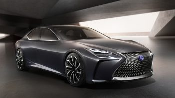 Download HD Wallpaper For Dekstop PC Lexus Lf Fc Concept 3D Wallpaper Download