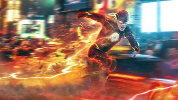 Flash Barry Allen 3D Wallpaper Download
