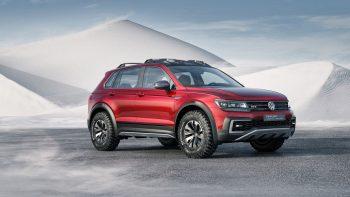 Full Ultra HD Wallpaper Volkswagen Tiguan Gte Active Concept