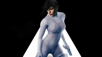 Ghost In The Shell Scarlett Johansson 5K