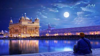 Golden Temple Amritsar Punjab India Full HD Wallpaper Download