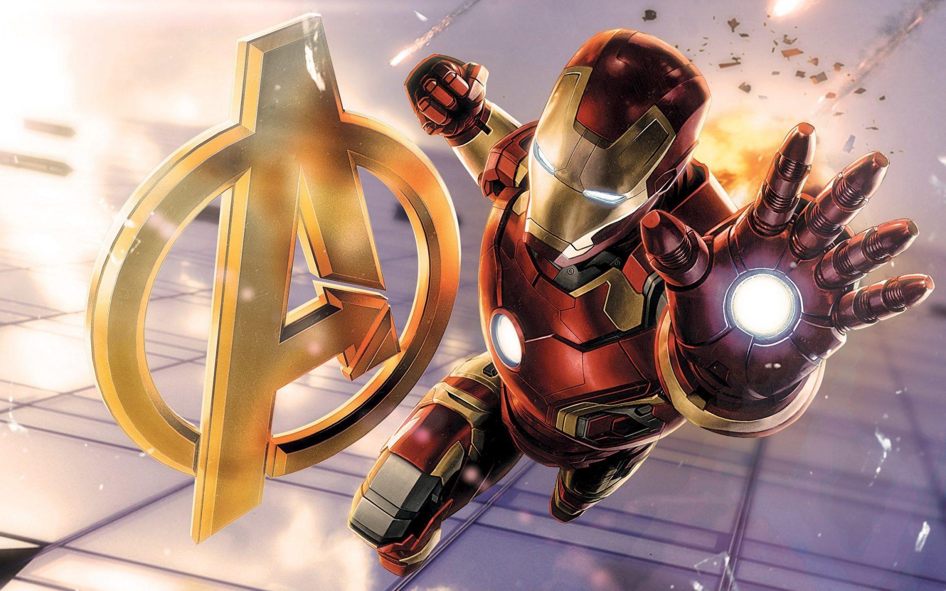 Iron Man Avengers 3D Wallpaper Download - Download High ...