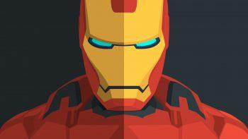 Iron Man Minimal Download HD Wallpaper