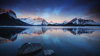Lake Mountains Android Stock