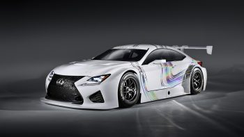 Lexus Rc F Gt3 Concept 3D Wallpaper Download
