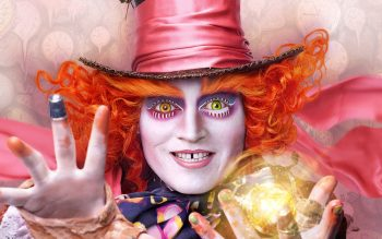 Mad Hatter Alice Through The Looking Glass Background HD Wallpapers