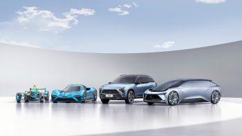 Nextev Nio Electric Cars 4K
