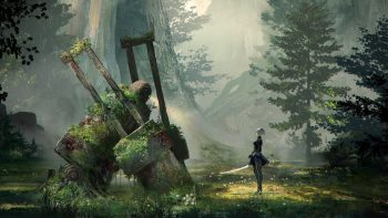 Nier Automata Concept Art 3D Wallpaper Download