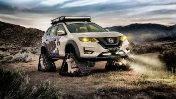 Nissan Rogue Trail Warrior Project Concept Wallpaper Download