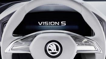 Skoda Vision S Logo