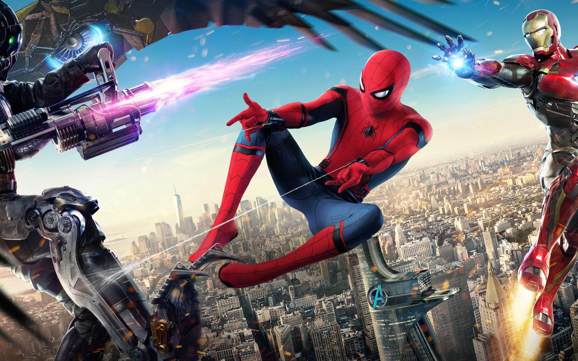 Spider Man Homecoming Download HD Wallpaper 8K - Download ...