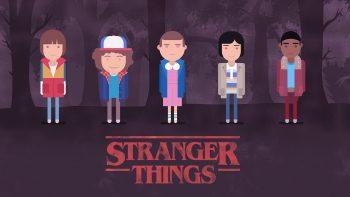 Stranger Things Minimal Download HD Wallpaper