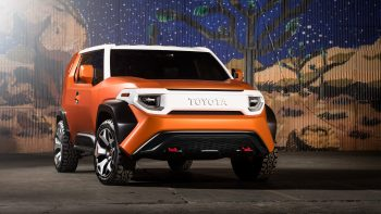 Toyota Ft 4x Concept Suv Nice Wallpaper